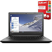 "Lenovo B50-50 80S2000NUK 15.6"" Laptop With BullGuard Internet Security"