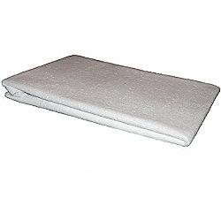 Purasleep Waterproof PU Terry Cot Pillow Protector Zipped 35 x 57cm
