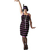 Flapper Dress - Adult Costume Size: 12-14