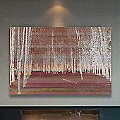 Parvez Taj Night Birch Wall Art - 76 cm H x 114 cm W x 5 cm D