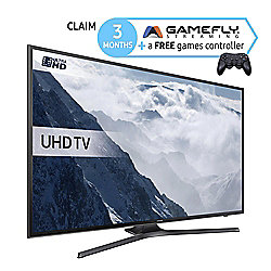 Samsung UE40KU6000 40 Inch Smart WiFi Built In Ultra HD 4k LED TV with Freeview HD