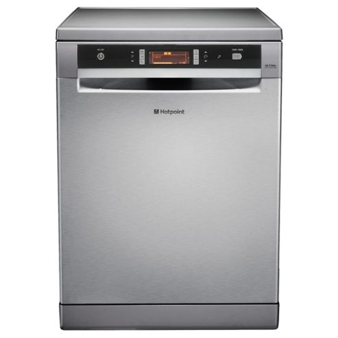 Hotpoint FDUD51110X Fullsize Dishwasher, A Energy Rating, Stainless Steel