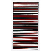 Home Essence Element Red/Black Canterbury Rug - 160cm x 120cm (5 ft 3 in x 3 ft 11 in)