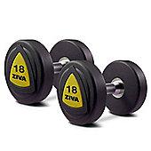 Ziva ZVO Series PU Dumbbells - 460kg Set - 5 Pairs, 42-50Kg
