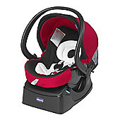 Chicco Auto-Fix Fast Baby Car Seat (Red Wave)