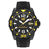 CAT Mens Black Ion-plated Date Watch PT.161.21.137