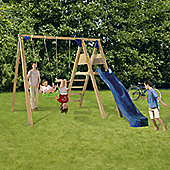 Blue Rabbit Deckswing Swing Set - Blue