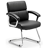 Home & Haus Desire Cantilever Visitor Chair - Black