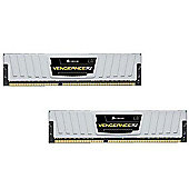 Corsair Vengeance Low Profile 8GB (2 x 4GB) Memory Kit PC3-12800 1600MHz DDR3 DIMM (White)