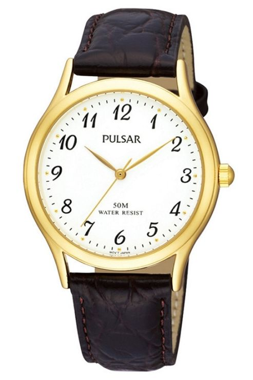 Pulsar Gents Leather Strap PRS650X1