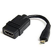 5in High Speed HDMI Adapter Cable with Ethernet to HDMI Micro - F/M