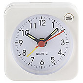 Tesco Basics  Multi Function Alarm Clock, White