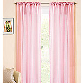 Casablanca Rod Pocket Voile Panel - Pink