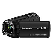 Panasonic HC-V250 Camcorder Black FHD 251mp 50xZoom 27LCD WiFi SD/SDHC/SDXC
