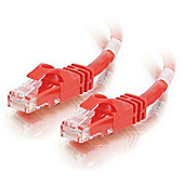 Cables to Go Cat6 Snagless CrossOver UTP Patch Cable 2 m - Red