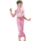 Rubie's Fancy Dress - Child Harem Girl Costume - Large. UK Size 8-10 years