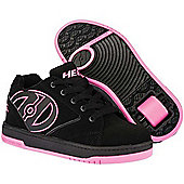 Heelys Propel 2.0 Black/Pink Kids Heely Shoe - Black