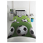 Tesco Football Balls Duvet Set, Single