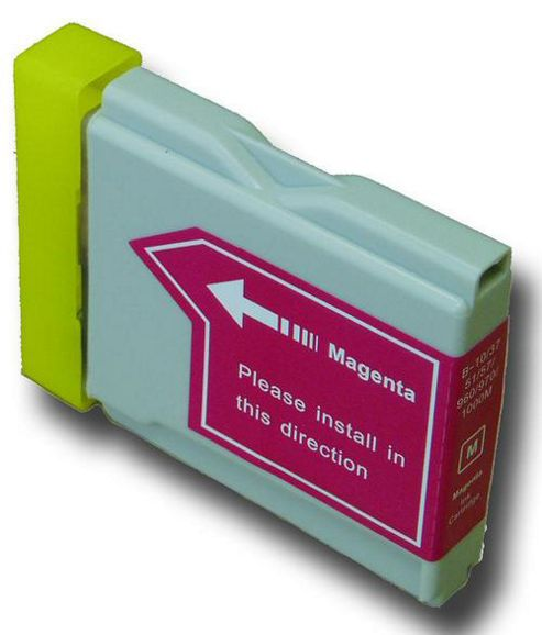 1 Magenta (Red) Compatible Brother LC970 M Ink Cartridge