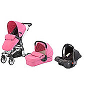 Baby Elegance Beep Travel System, Pink