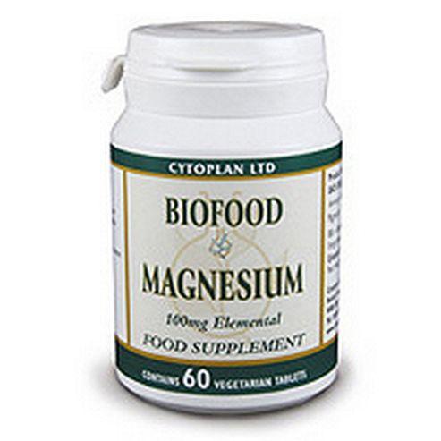 Cytoplan Biofood Magnesium 60 Tablets