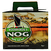 Woodfordes Norfolk Nog (ABV 4.6%) 40 pint Real Ale home brew beer kit