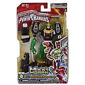 Saban's Power Rangers Mixx N Morph Green Tiger Rangerzord