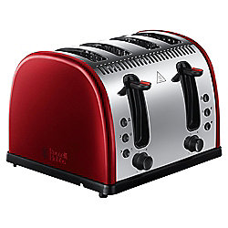 Russell Hobbs Legacy 21301 4 Slice Toaster - Metallic Red