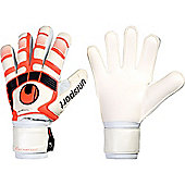 Uhlsport Cerberus Handbett Soft Goalkeeper Gloves - White