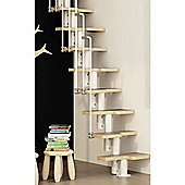 Zipi Space Saver Staircase 10 Treads Inc Landing