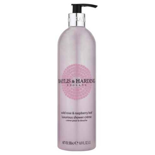 B&H Wild Rose & Raspberry Leaf Shwr Crm 500Ml