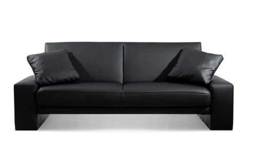 Julian Bowen Supra Sofa Bed in Black