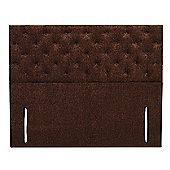 Furmanac Chelsea Upholstered Headboard - Small Single - Weave Grey