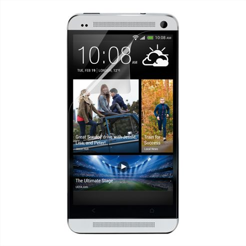 Belkin Screen Overlay 3 Pack for HTC One in Transparent