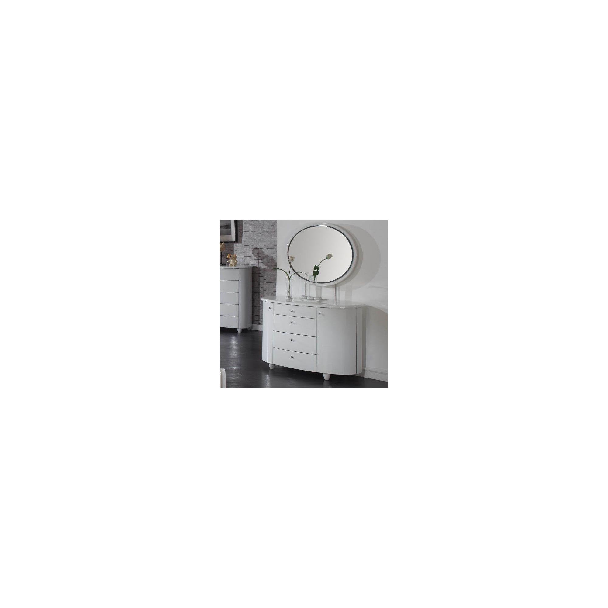 Birlea Aztec Dresser and Mirror Set - White at Tesco Direct