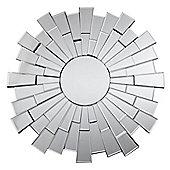 Premier Housewares Flared Circle Wall Mirror
