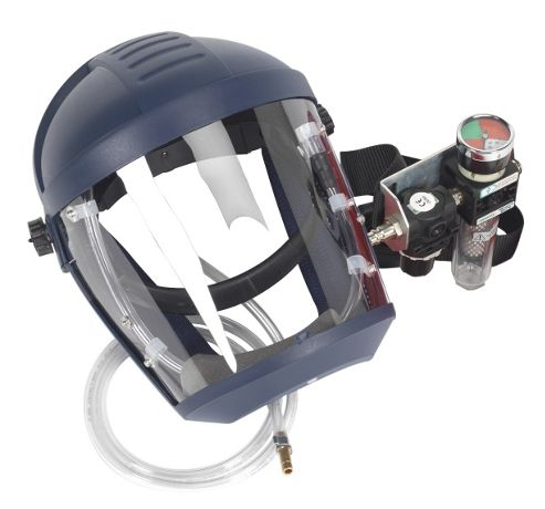 Sealey SSP200 - Air Fed Breathing Mask with Waist Belt Assembly to BS EN 270