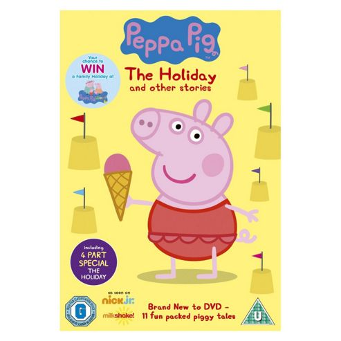 Peppa Pig - The Holiday DVD