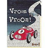 Nursery Rhymes Canvas - Vroom Vroom!