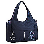 Okiedog Urban Celeb Tote Changing Bag, Blue