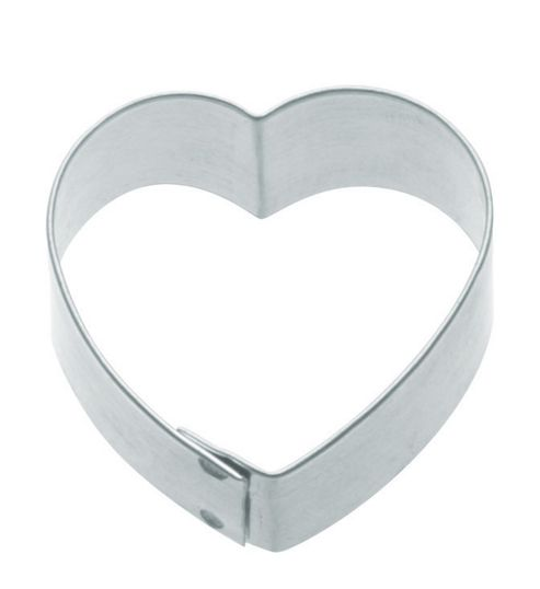 KitchenCraft Cookie Cutter with Medium Heart Shaped