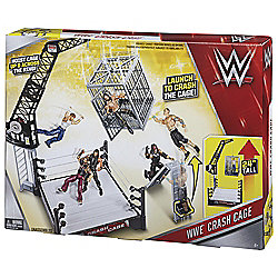 WWE Crash Cage Assault in the Vault playset