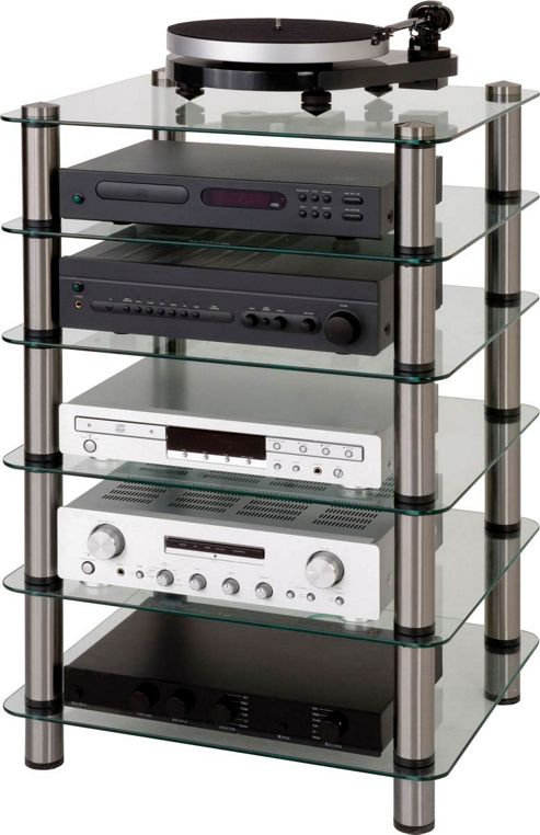 Buy Optimum Prelude Six Shelf Hifi Stand From Our