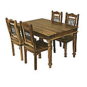 Elements Jaitu 135cm Dining Table Set