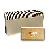 Jaga Knockonwood Wooden Radiator 800mm High x 600mm Wide Type 11 Natural Oak
