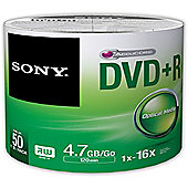 Sony DVD Recordable Media - DVD+R, 50 Pack