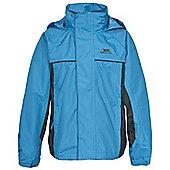 Trespass Boys Mooki Waterproof Jacket - Blue