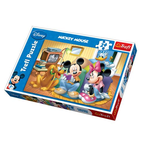 Mickey Mouse Clubhouse 24 Piece Maxi Jigsaw Puzzle