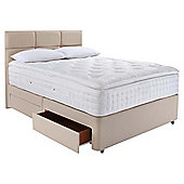 Relyon Luxury 2200 4 Drawer Divan Set  Superking