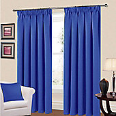 Manhattan Thermal Blackout Curtains 64 x 72 - Blue